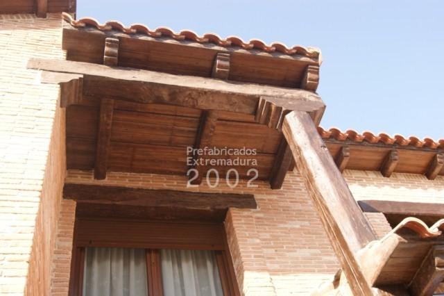 Prefabricados extremadura 2002 obras realizadas - Hormigon imitacion madera ...